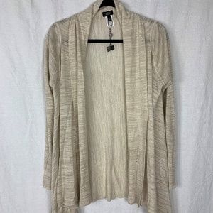 Talbots Womens Open Front Cardigan 1XP Waterfall